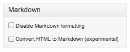 Markdownプラグイン運用状態