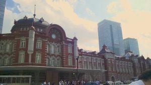 東京駅とサウスタワー